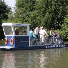 Canoe and bicycle rental company Kano.nl (De Betuwse Stromen) is located in  the Betuwe aan de Linge, one of the most idyllic rivers in the Netherlands.